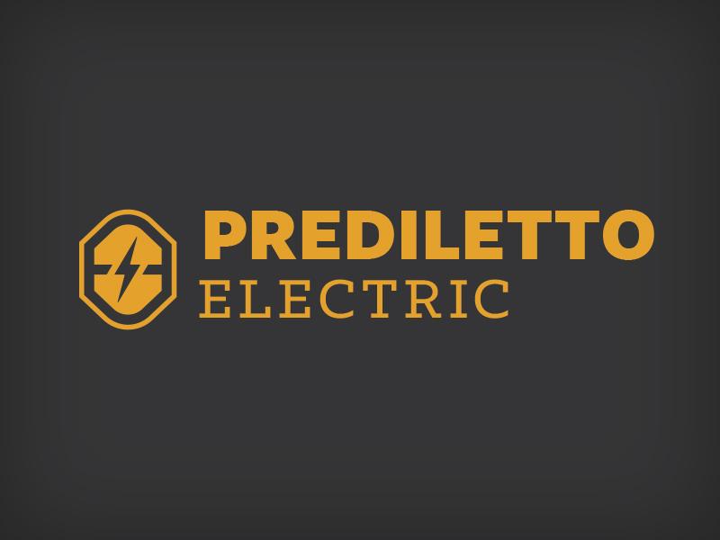 Prediletto Electric logo logo brand mark wip