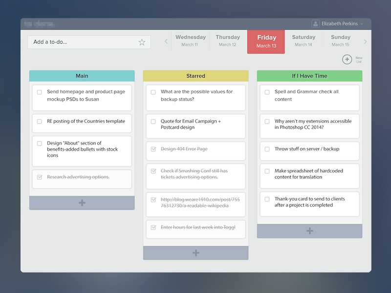 To-Do List App to do ui user interface user experience app application