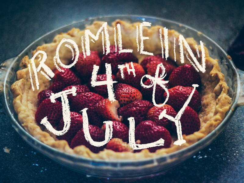 4th of July americana hand lettering lettering photography