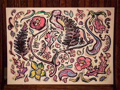 Ink n' Watercolor