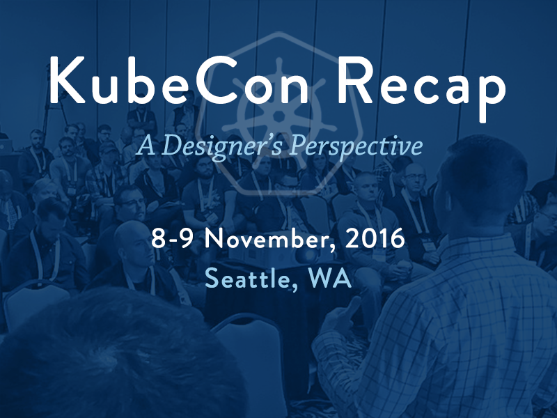 KubeCon Post Graphic graphic type blog