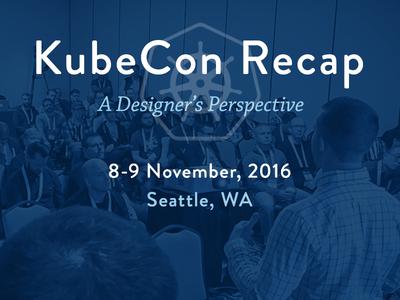 KubeCon Post Graphic