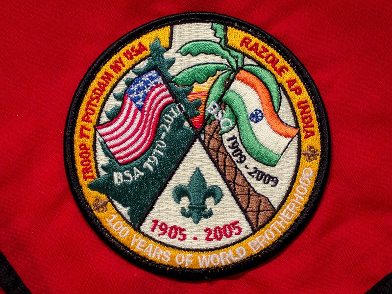 Scouting Patch illustration patch tbt
