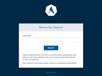 Rebranded Authentication Page