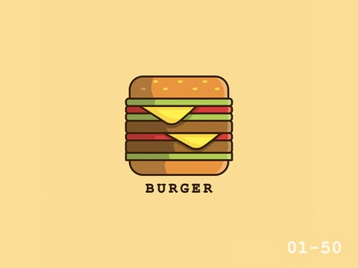 50 Days Of Vector Challenge [ 1/50 Food Series ]