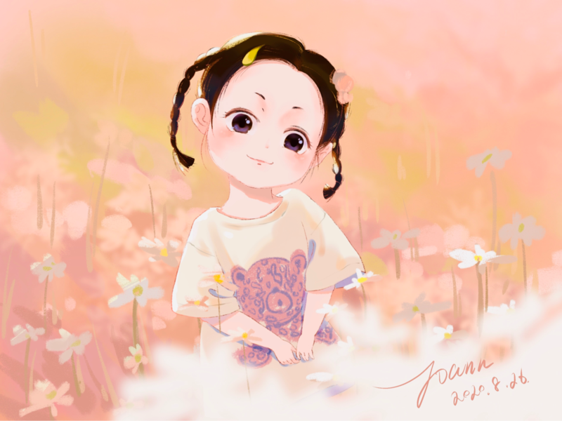 Cute baby design illustration