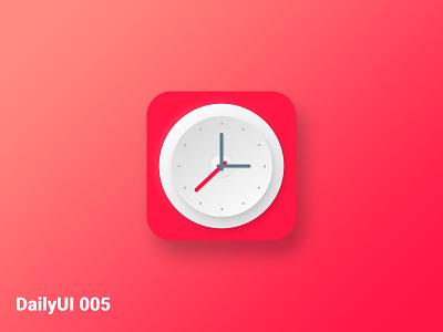 #DailyUI005 neumorphism neumorphic dailyui05 dailyui5 clock app icon design app design uiux uxui ux ui daily 005 dailyui005