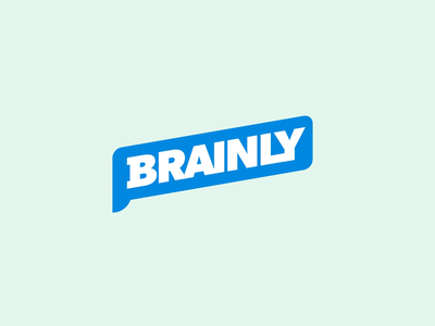 Brainly Community Q&A morph after effects loop chat animation branding motion graphics logo