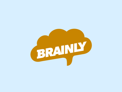 Brainly Tutor slice lips star mouth earth planet world brain branding motion logo animation after effects loop