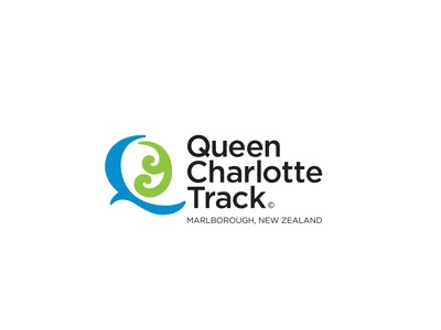 Queen Charlotte Track identity brand hiking trail walking branding logo plant bird tramping new zealand nature