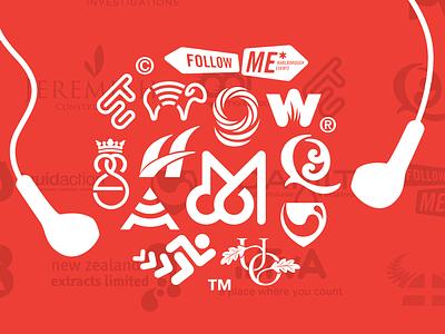 Sound Ideas self promotion identity logo branding brand