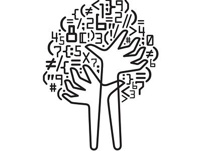 CodeTree design icon illustration branding logo