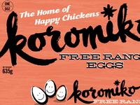 Koromiko Free Range eggs 3