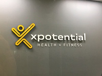 Xpotential reception signage