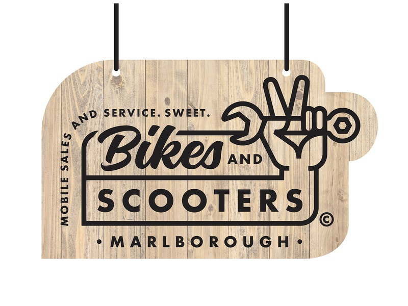 Bikes and Scooters 3 sign