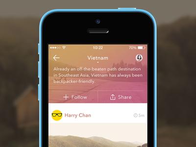 Topic WIP app ui ux design