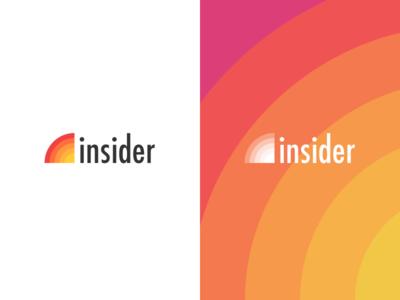 Trip Insider Logo design branding travel logo insider trip