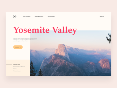 Yosemite Valley trip travel web yosemite