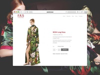 Luxury Fashion Shop Product Page