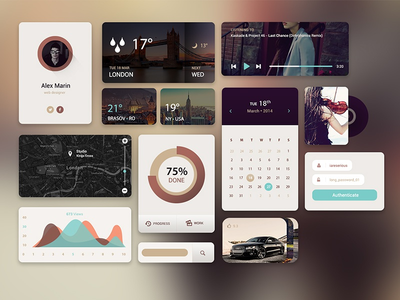 Web UI Kit