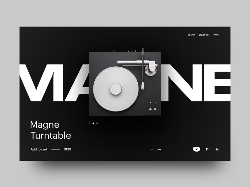 Single Product UI landing site clean design graphic design illustration logo minimal mobile sketch typography ui vector web poster dailyui social
