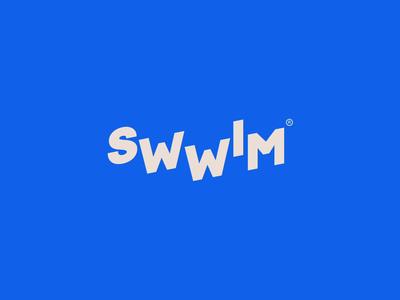 Swwim vector whitespace commerce app icon clean layout typography animation responsive website web branding logo brand illustration minimal ux homepage ui