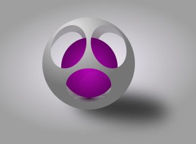 3-D ball