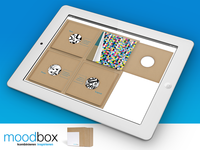 "Visualisation of the creativity tool ""moodbox"""