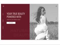 Landing page cosmetics