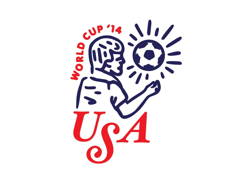 soccer is fun to watch soccer sports usa world cup logo