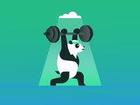 Cloud Training Panda