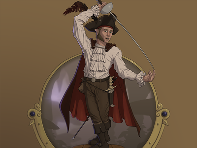 Monkin Lightfoot | Halfling Rogue halfling rogue art illustration drawing digital painting digital art procreate apple pencil dnd dungeons and dragons underdark