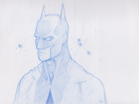 Batman Sketch Finalized