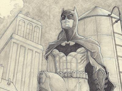 Batman - The Watch pencil blue pencil batman