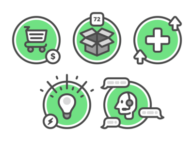 Icons for Customer Journey
