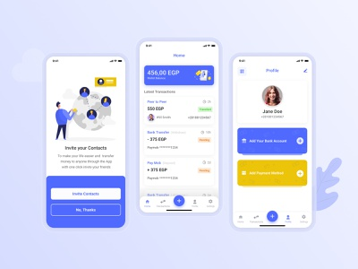 Welcome to EZ Pay e-wallet finance app ui design mobile ui mobile app ui ux mobile app design uiux design uidesign