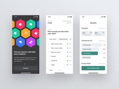 Footprint App — Onboarding