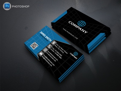Corporate Business Cards template