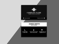 Black Business Cards template