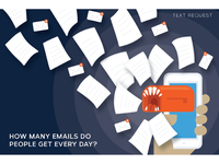 How Many Emails Do People Get Every Day Whitepaper Illustration