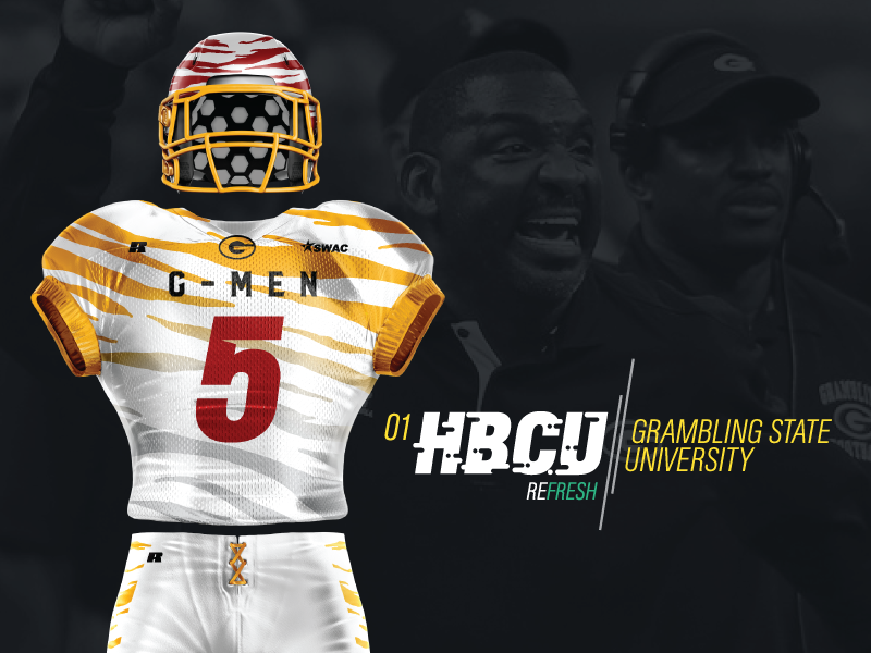 huge selection of a80f7 fc225 HBCU Grambling State - Golden Paw by eric king II on Dribbble
