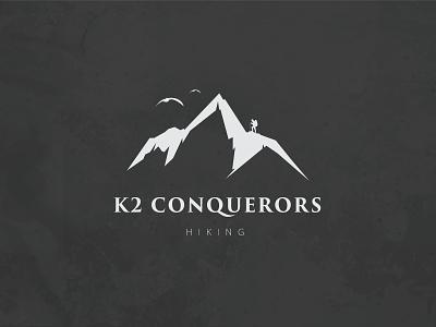 K2 Conquerors icon logo vector logo design branding design illustration logo design graphic design branding promoyourbiz