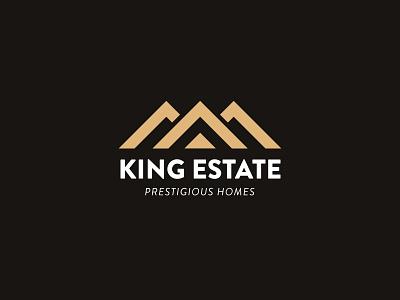 King Estate logo vector logo design branding illustrator design illustration logo design graphic design branding promoyourbiz
