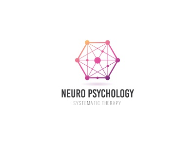 Neuro Psychology illustrator design vector logo design branding illustration icon logo design graphic design branding promoyourbiz