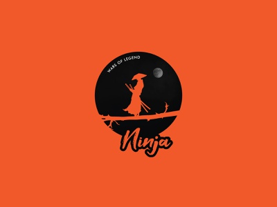 Ninja logo illustrator design vector logo design branding illustration logo design graphic design branding promoyourbiz