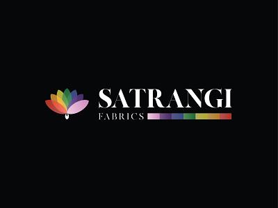 Satrangi Fabrics vector logo illustrator design logo design branding illustration logo design graphic design branding promoyourbiz
