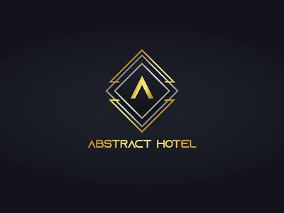 Abstract Hotel design illustrator logo vector logo design branding illustration logo design graphic design branding promoyourbiz