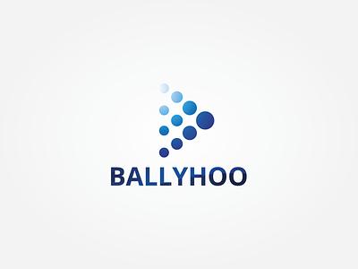 Ballyhoo illustrator logo design vector logo design branding illustration logo design graphic design branding promoyourbiz