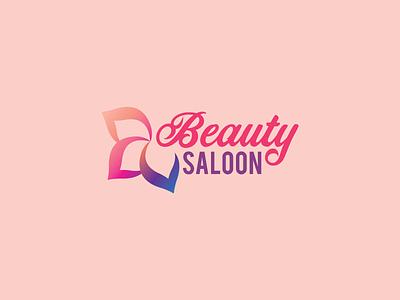 Beauty Saloon logo illustrator vector design logo design branding illustration logo design graphic design branding promoyourbiz
