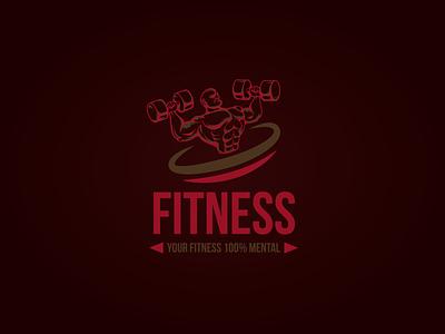 Fitness logo illustrator design vector logo design branding illustration logo design graphic design branding promoyourbiz